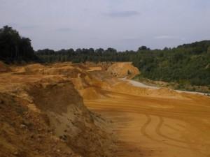 Kies- und Sandgruben am Freudenberg