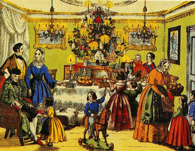 Historie des weihnachtsbaumes