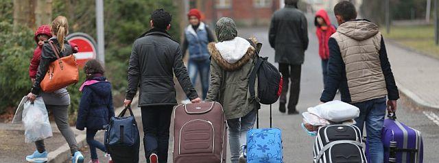 Harte Zeiten der Flucht liegen hinter den meiste Asylbewerbern