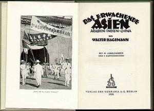 Schilderungen aus Asien 1926